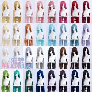 Long Wig 100 cm 24 colors – Manmei