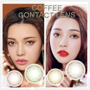 Lente de Contato Coffee
