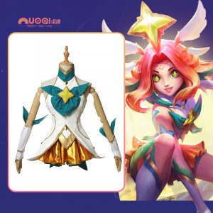 Cosplay Neeko Guardiã Estelar League of Legends LOL – Nuoqi